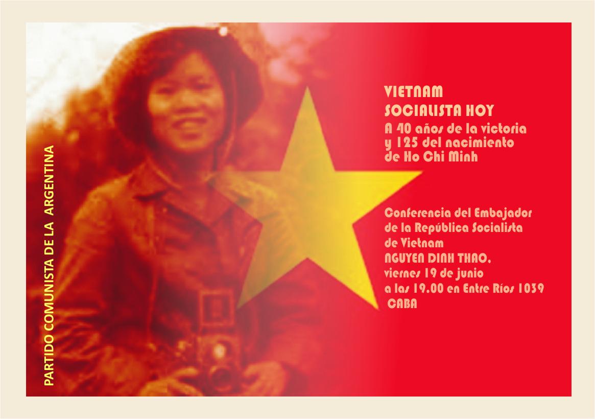 Conferencia del Embajador de Vietnam