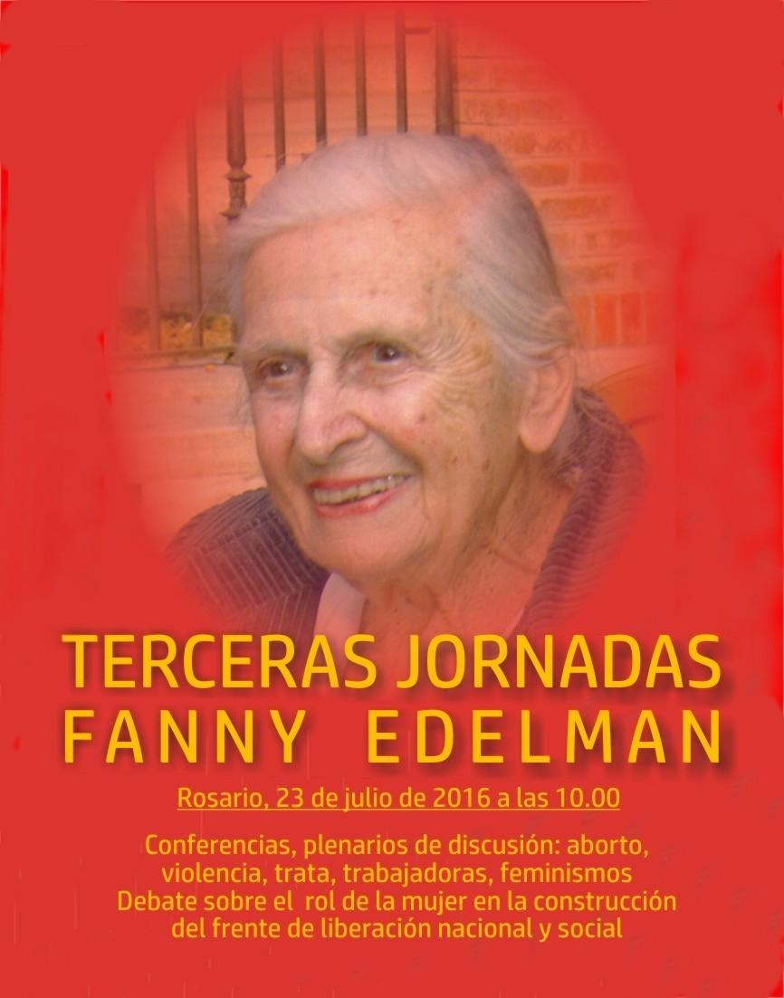 Tercera Jornada Fanny Edelman