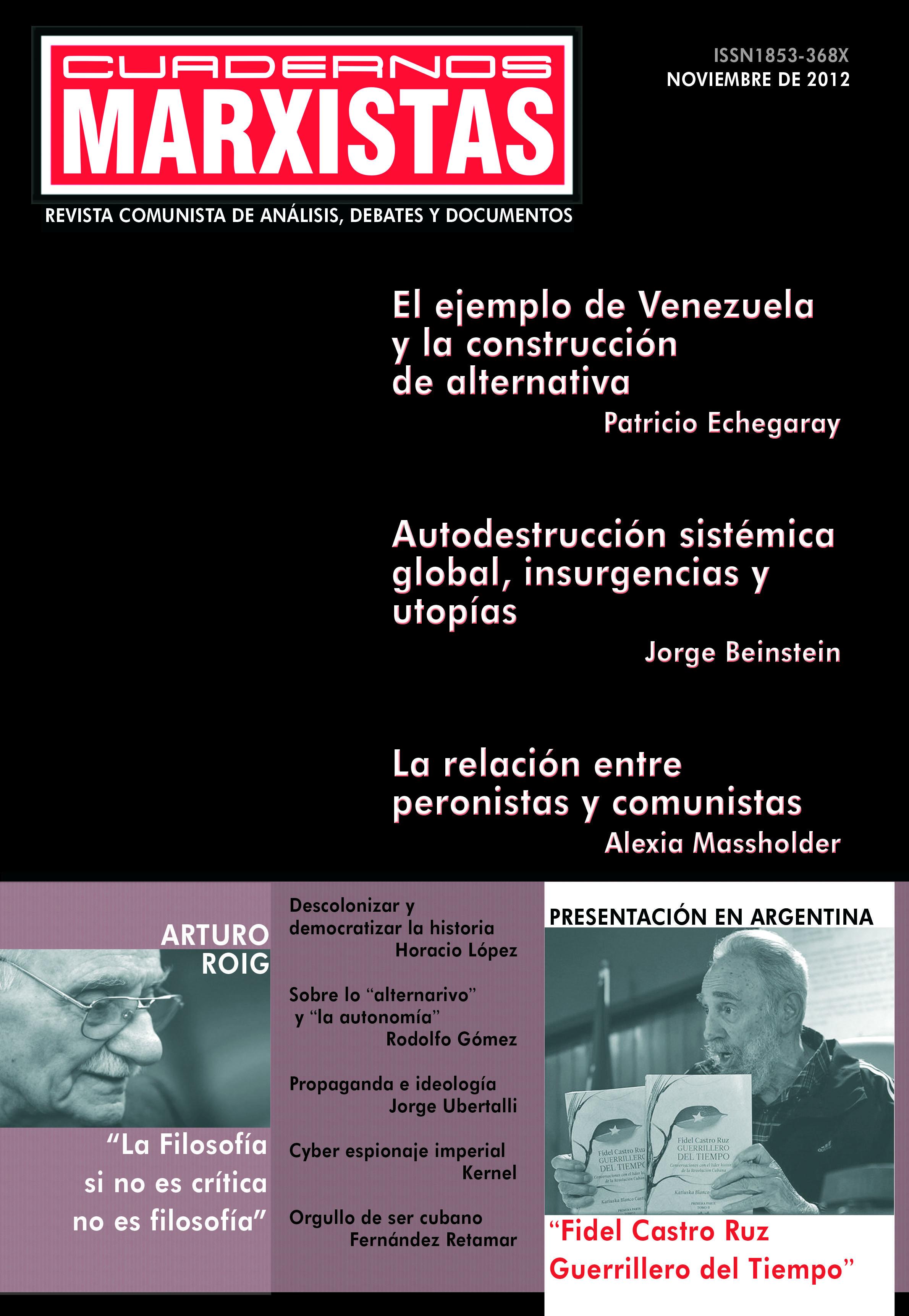 Tapa Cuadernos Marxistas n° 5